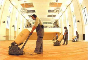 Sanding service for your wood floor in Thailand