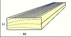 Pinex plank wood
