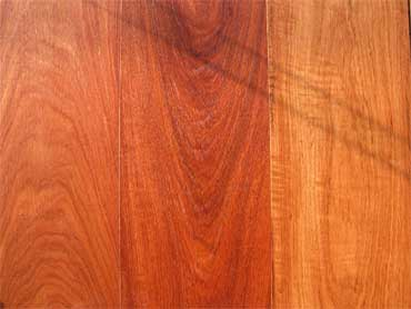 Solid Red Wood Floor