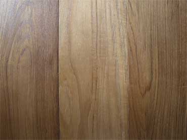 Solid Teak Wood Floor